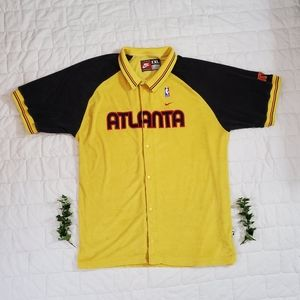 Vintage Nike Atlanta Hawks Warmup Shooting Shirt